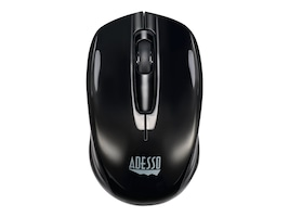 Adesso iMouse s50, 2.4gHz 1200 DPI Wireless Mini Mouse w  Battery Saver, Black, IMOUSES50, 34362114, Mice & Cursor Control Devices