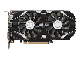 Microstar GeForce GTX 1050 TI 4GT PCIe 3.0 x16 Overclocked Graphics Card, 4GB GDDR5, G1050T4TC, 33828445, Graphics/Video Accelerators