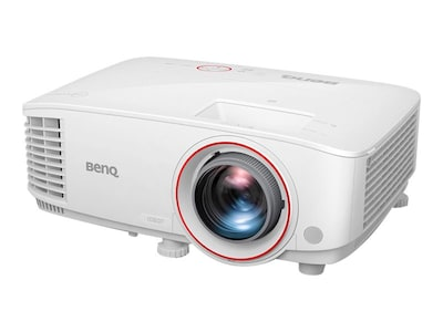 BenQ TH671ST 1080p DLP Short Throw Home Theater & Gaming Projector, 3000 Lumens, White, TH671ST, 34643397, Projectors