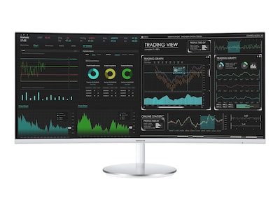 Samsung 34 CJ791 QHD LED-LCD Ultrawide Curved Thunderbolt Monitor, C34J791WTN, 35532509, Monitors