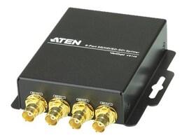 Aten 6-Port 3GHDSDSDI Splitter, VS146, 17956236, Network Switches