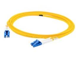 ACP-EP LC-LC OS1 Singlemode Single Strand Simplex Fiber Optic Patch Cable, Yellow, 15m, ADD-LC-LC-15MS9SMF, 16813962, Cables