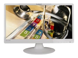 Planar 22 PLL2210MW Widescreen LED-LCD Monitor with Speaker, White, 997-6404-00, 12900591, Monitors