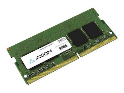 Axiom 8GB PC4-19200 260-pin DDR4 SDRAM SODIMM for ThinkCentre, ThinkPad Models, 4X70M60574-AX, 34212600, Memory