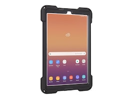 Joy Factory aXtion Bold MP Rugged Water-Resistant Case for Galaxy Tab A 10.5, Black, CWM302, 36352745, Carrying Cases - Tablets & eReaders