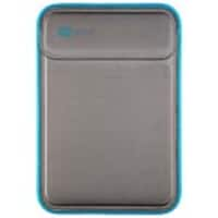 Speck Flaptop Sleeve for 13 MacBook Pro, Gray Electric Blue, 77498-5546, 32158523, Carrying Cases - Notebook