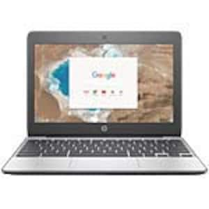 Open Box HP Chromebook 11 G5 EE Celeron N3060 1.6GHz 4GB 32GB SSD ac BT WC 3C 11.6 HD MT Chrome OS, 1BS77UT#ABA, 35854567, Notebooks