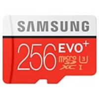 Samsung 256GB Micro SD EVO+ Memory Card with SD Adapter, MB-MC256DA/AM, 32198402, Memory - Flash