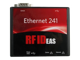 RF IDeas 241 Ethernet Converter USB & Serial 9-Pin w Power Supply, C-N11NCK4, 31257394, Network Adapters & NICs