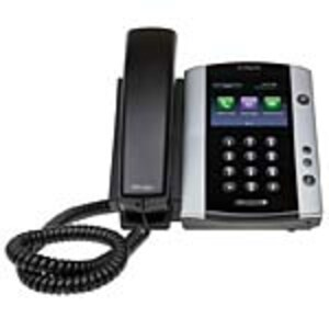 Open Box Polycom VVX 501 Business Media Phone w MS Skype, 2200-48500-019, 34882671, VoIP Phones