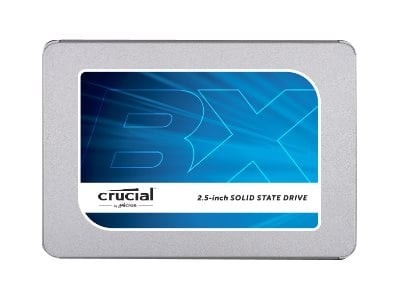 Crucial 120GB Crucial BX300 SATA 6Gb s 2.5 7mm Internal Solid State Drive w  9.5mm Adapter, CT120BX300SSD1, 35174051, Solid State Drives - Internal