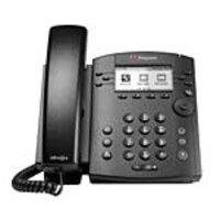 Open Box Polycom VVX 301 Phone, Skype for Business, PoE, 2200-48300-019, 35374791, VoIP Phones