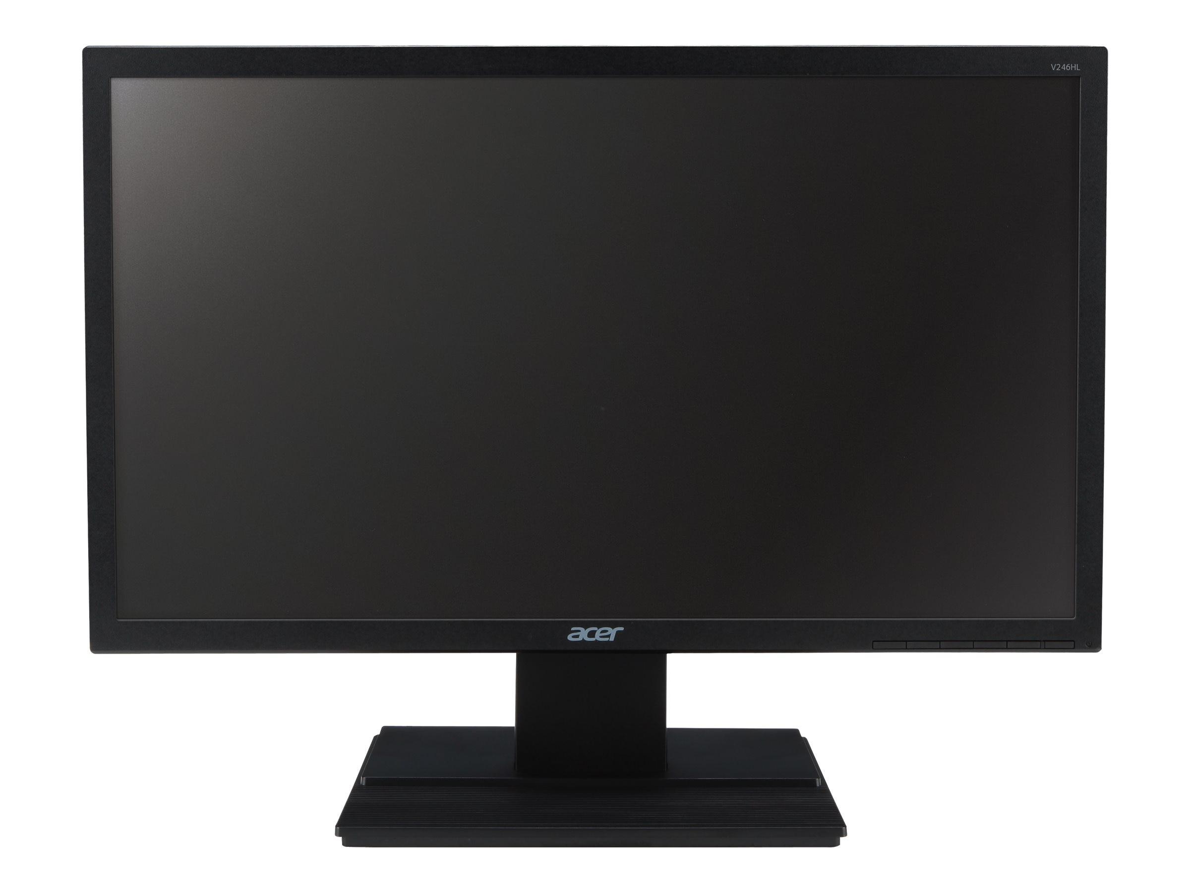 Acer 24 V246HL BD Full HD LED-LCD Monitor, Black, UM.FV6AA.003, 15406839, Monitors