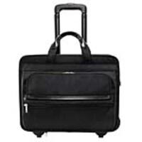 Paladin Franklin 15.6 Detachable-Wheeled Laptop Briefcase, Tech-Lite Ballistic Nylon, Black, 56445, 32689578, Carrying Cases - Notebook