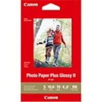 Canon 4 x 6 PP-301 Photo Paper Plus Glossy II (100-Sheets), 1432C006, 32845139, Paper, Labels & Other Print Media