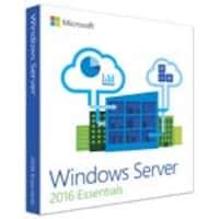 Microsoft Windows Server Essentials 2016 64Bit English 1pk DSP OEI DVD1-2CPU ***NO RETURNS***, G3S-01045, 32847231, Software - Operating Systems