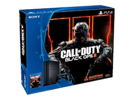 Sony 500GB PS4 Console with Call of Duty: Black Ops, 3001055, 30977728, Video Game Consoles