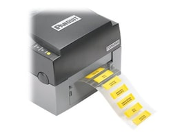 Panduit .38 2 Sided LSZH Heat Shrink Labels - White (500 Roll), H200X064HFT-2, 35140581, Cable Accessories