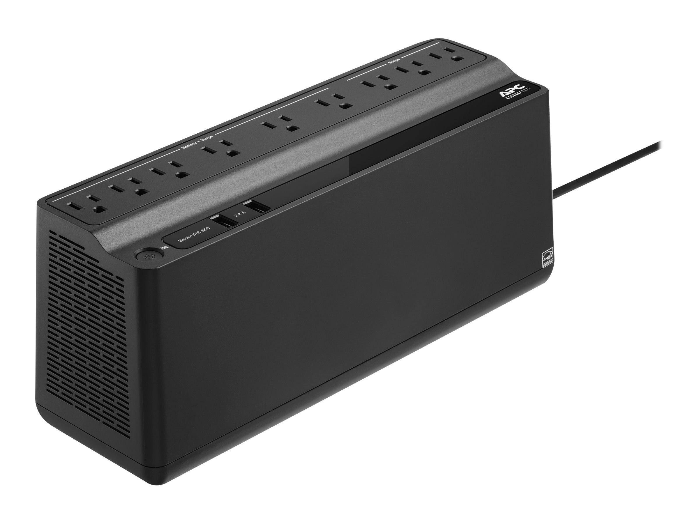 APC Back-UPS 850VA 450W 120V Standby (9) 5-15R Outlets