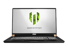 MSI WS75-002 Core i7-9750H 32GB 512GB T2000 W10P, WS75002, 37047478, Workstations - Mobile
