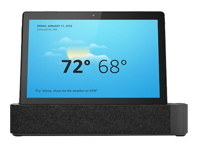 Lenovo Smart Tab M10 SD429 2.0GHz 2GB 16GB eMCP ac BT 2xWC Dock 10.1 HD MT Android Pie, ZA510007US, 37308800, Tablets