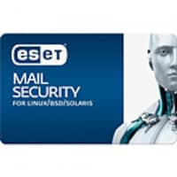 ESET Corp. 3-year Renewal Mail Security for Linux BSD 5-10, LMS-R3-B5, 33233935, Software - Antivirus & Endpoint Security