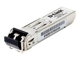 D-Link 1000Base-SX GbE SFP 850nm 550m LC MM Transceiver, DEM-311GT, 430423, Network Transceivers