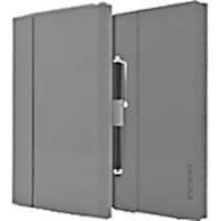 Incipio Faraday Folio Stylus Case w  Magnetic Fold-over Closure for iPad mini 4, Gray, IPD-293-GRY, 33317469, Carrying Cases - Other