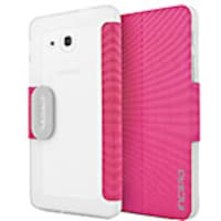 Incipio Clarion Translucent Protective Folio for Samsung Galaxy Tab A 7, Pink, SA-808-PNK, 33535685, Carrying Cases - Other