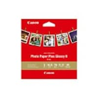 Canon 5x5 Photo Paper Plus Glossy II, 20 Sheets, 1432C012, 33535925, Paper, Labels & Other Print Media