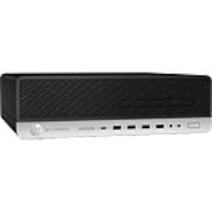 Open Box HP EliteDesk 800 G3 SFF Core i5-7500 3.4GHz 16GB 512GB HD630 DVD-RW GbE W10H64, 2KE09US#ABA, 35886593, Desktops
