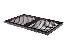 Belkin 28 Deep Fixed Vented Shelf, 19 Wide, 300 lb. Capacity, RK5021, 5689871, Rack Mount Accessories