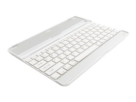 Axiom Aluminum Keyboard Cover for iPad2 3, White, APLIP3KCW-AX, 14978801, Carrying Cases - Tablets & eReaders