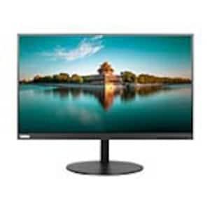 Scratch & Dent Lenovo 23.8 P24H-10 QHD LED-LCD Monitor, Black, 61AEGAR3US, 35794234, Monitors