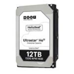 Open Box HGST 12TB UltraStar He12 SAS 12Gb s 512e ISE 3.5 Helium Platform Enterprise Hard Drive, 0F29530, 37500252, Hard Drives - Internal