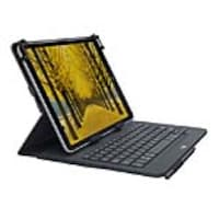 Open Box Logitech Universal Folio Case with Integrated Bluetooth Keyboard for 9 to 10 Tablet, 920-008334, 35157155, Carrying Cases - Tablets & eReaders