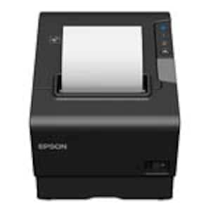 Open Box Epson TM-T88VI USB Powered Ethernet Thermal Receipt Printer, C31CE94A9931, 37119435, Printers - POS Receipt