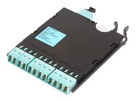 Corning Pretium EDGE® Solutions Module, 12 F, Shuttered LC Duplex to MTP Connector, 50 µm multimode (OM3), ECM-UM12-05-93T, 11901091, Adapters & Port Converters