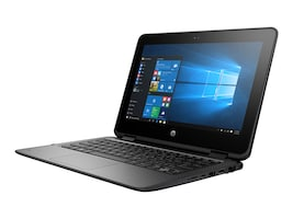 HP ProBook x360 11 G1 EE Celeron N3350 1.1GHz 4GB 128GB SSD ac BT 2xWC 11.6 HD MT W10P64, 1FY91UT#ABA, 33539310, Notebooks - Convertible