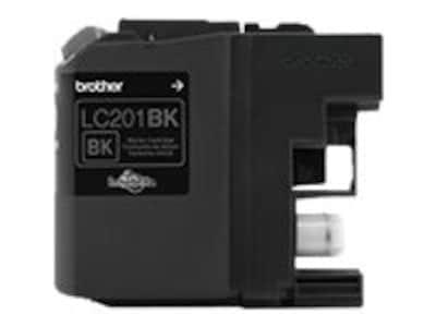 Brother Black LC201BK Innobella Standard Yield Ink Cartridge, LC201BK, 23204997, Ink Cartridges & Ink Refill Kits - OEM