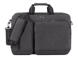 SOLO 15.6 Urban Hybrid Briefcase, Gray, UBN310-4, 35857733, Carrying Cases - Notebook