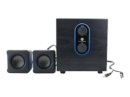 Accessory Power GoGroove LBR 2.1 USB Computer Speakers w  Bass Subwoofer & Dual Stereo, GGSVLBR100GYUS, 36550709, Speakers - PC