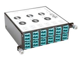 Tripp Lite 40Gb-10Gb Breakout Cassette x3 8-Fiber OM4 MTP MPO to x12 Dup LC, N484-3M8-LC12, 30982543, Network Device Modules & Accessories