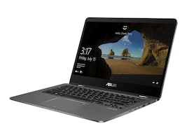 Asus Zenbook Flip Core i7-8550U 1.8GHz 16GB 512GB SSD 14 FHD MT W10, UX461FN-DH74T, 36353191, Notebooks - Convertible