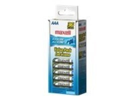 Maxell AAA Alkaline Batteries (36-pack), 723815, 31856522, Batteries - Other