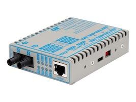 Omnitron FlexPoint Media Converter 10 100BaseTX to 100BaseFX, 4342-1, 194629, Network Transceivers