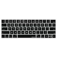 Macally Protective Keyboard Overlay for 13 & 15 MacBook Pro w Touch Bar, Black, KBGUARDTBB, 34298116, Protective & Dust Covers