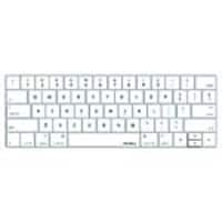 Macally Protective Keyboard Overlay for 13 & 15 MacBook Pro w  Touch Bar, White, KBGUARDTBW, 34298132, Protective & Dust Covers