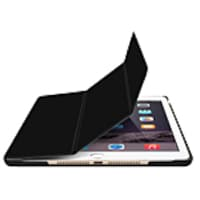 Macally Protective Folio for 5th Gen iPad, Black, BSTAND5B, 34312942, Carrying Cases - Tablets & eReaders