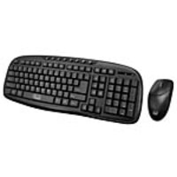 Adesso 2.4GHz Wireless Desktop Keyboard Mouse Combo, WKB-1330CB, 34366772, Keyboard/Mouse Combinations